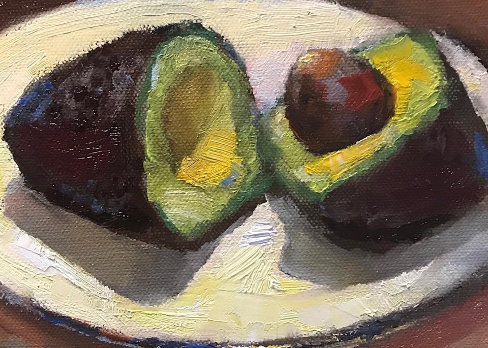Avocado 5 Art | Bkern Fine Art