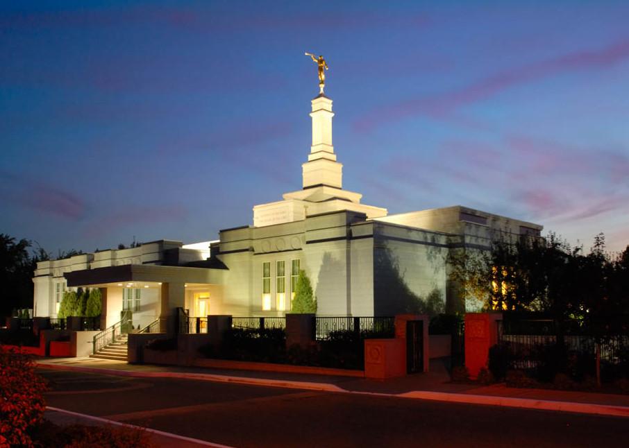 Edmonton Temple - Dusk