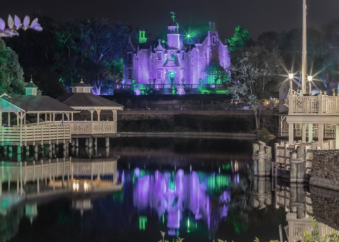 Haunted Mansion Reflection 2 - MNSSHP Photos | William Drew