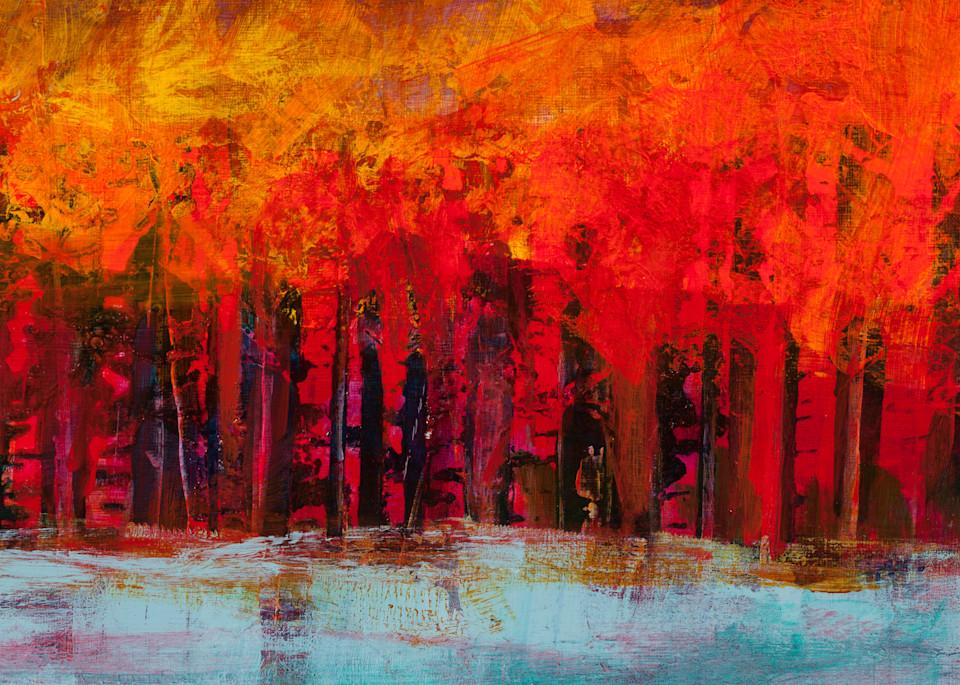 Aspen Tree Canvas Wall Art On Sale