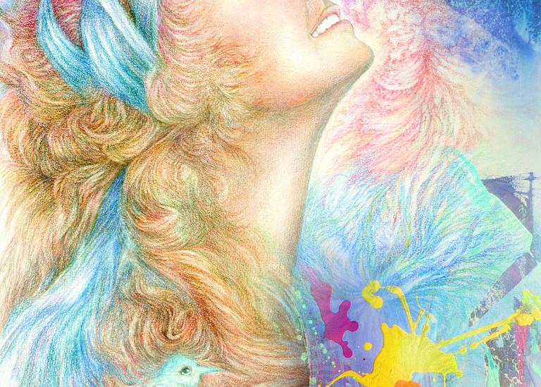 Blissful Happiness Art   Joan Marie Art