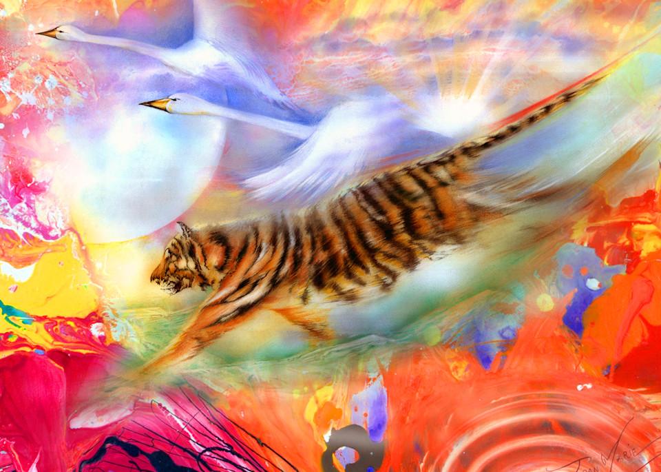 Victorious Flight Art   Joan Marie Art