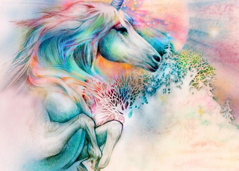Unicorn Mist Art | Joan Marie Art
