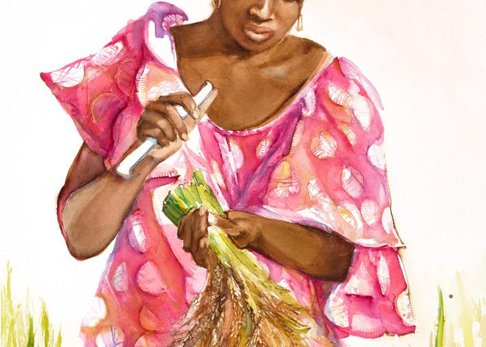 Pink Harvester