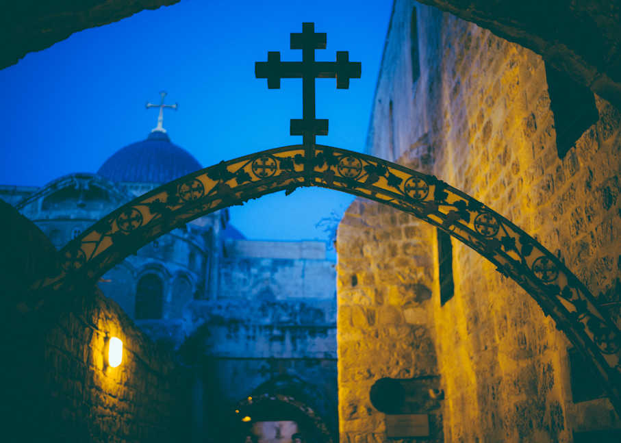 A View to the Cross  Kirby Trapolino Fine Art Photography
