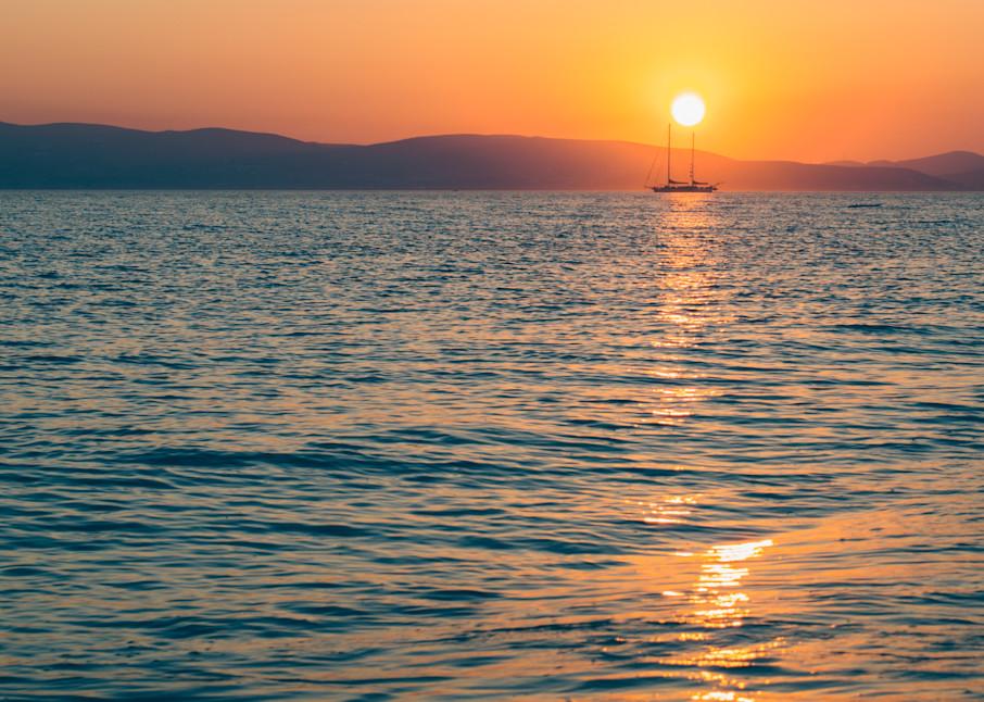 Naxos Port Passage | Kirby Trapolino Fine Art Photography