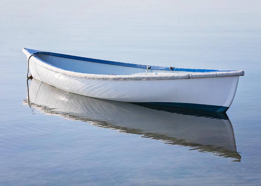 """Vineyard Haven Dory II"" Martha's Vineyard Fine Art Boat Photograph"