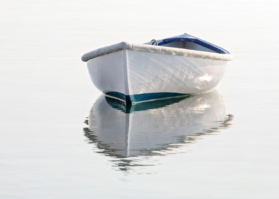 """Vineyard Haven Dory"" Nautical Rowboat Martha's Vineyard Fine Art Photography"