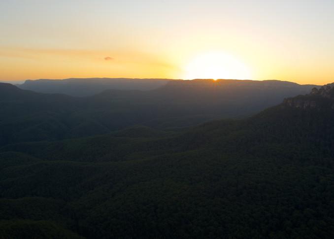 Sublime Sunset - Leura Blue Mountains National Park NSW Australia   Sunset