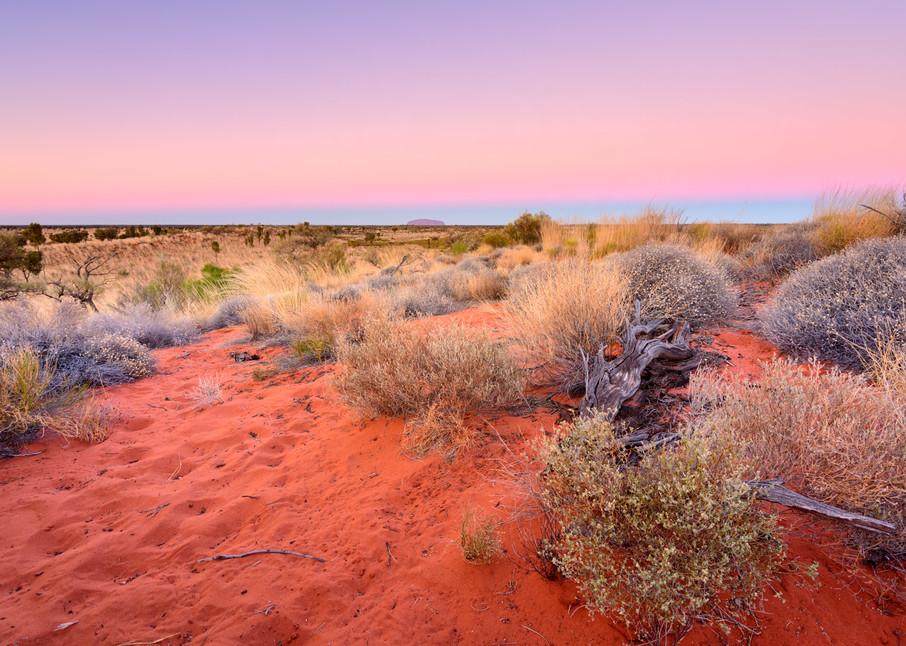 Heart Of The Land - Uluru Kata Tjuta National Park NT Australia | Sunset