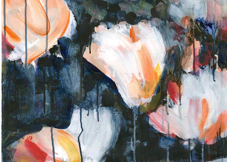 Mud & Peonies Ii   Paper Art | Caroline Wright Art