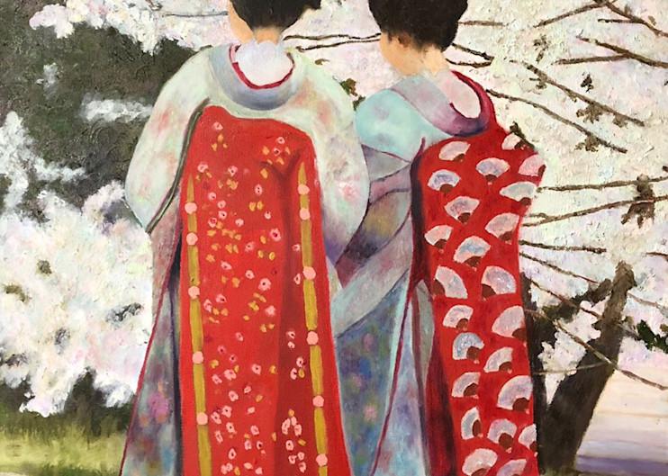 Pair of Geishas