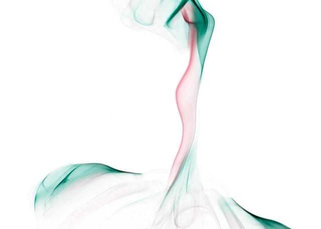 The Bride Studio Shoot - Smoke Feine Form   Doug Hall   Abstract Art