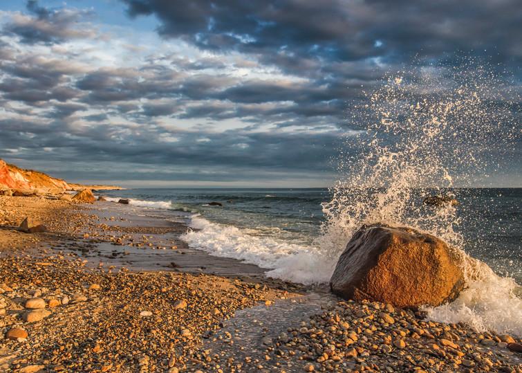 Moshup Beach Splash Art | Michael Blanchard Inspirational Photography - Crossroads Gallery