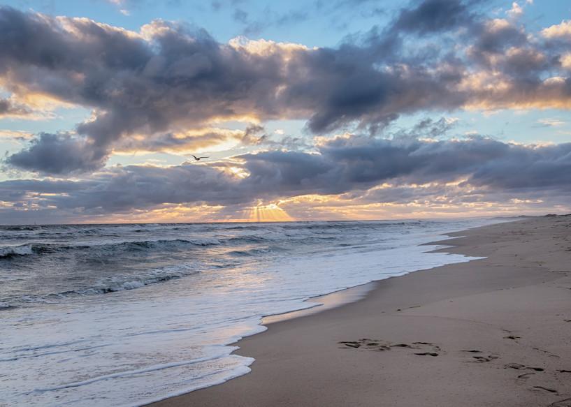 South Beach Sun Beams Art | Michael Blanchard Inspirational Photography - Crossroads Gallery