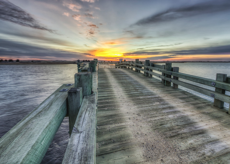 Dyke Bridge Sunrise Art | Michael Blanchard Inspirational Photography - Crossroads Gallery