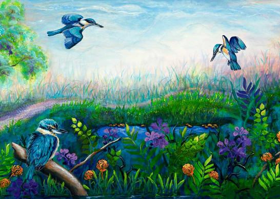 Kingfisher Habitat