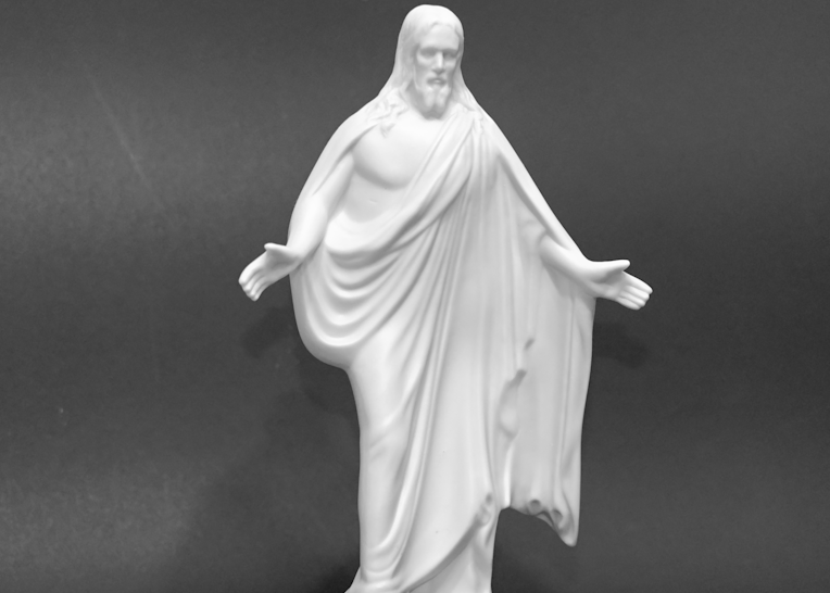 Black And White Jesus2 Photography Art | Drone Video TX