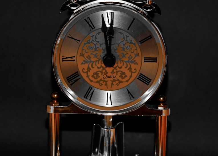 Clock   Selective Coloring Photography Art | Drone Video TX