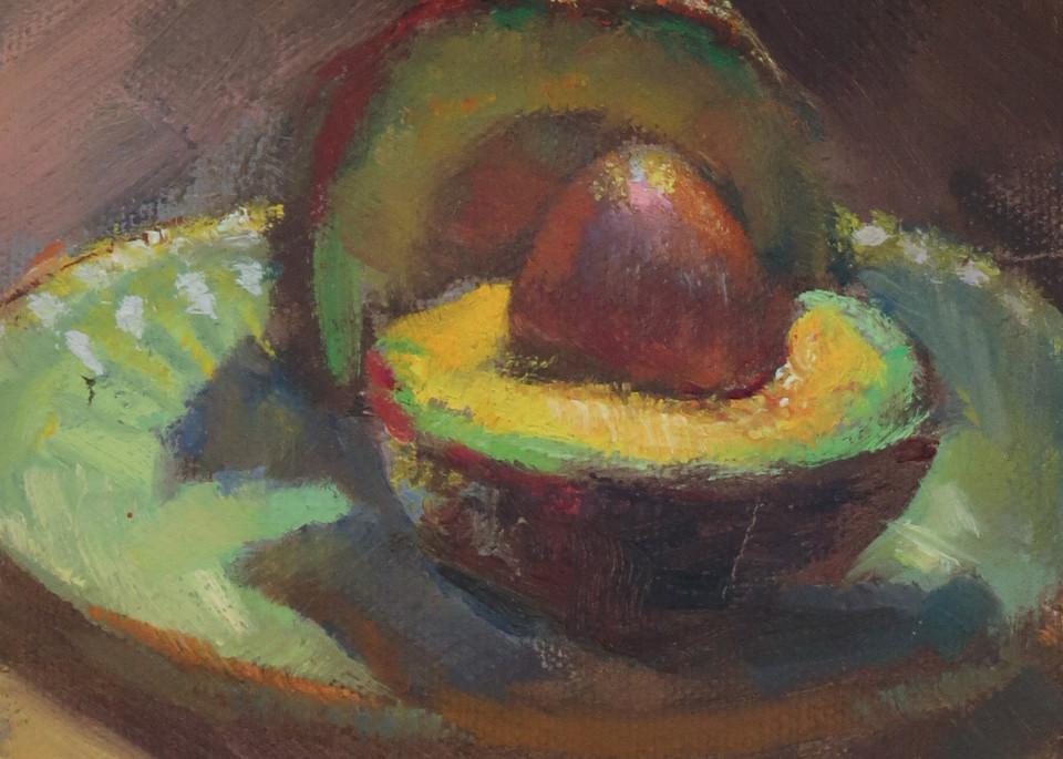 Avocado 2 Art | Bkern Fine Art