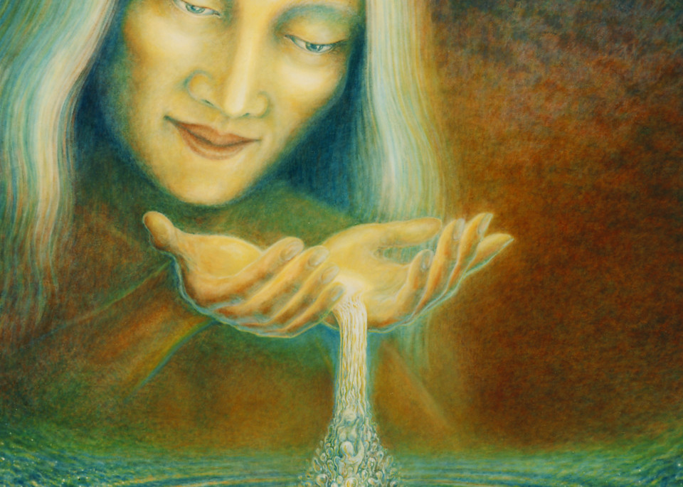 Giver of Life custom print from the original oil painting by Mark Henson