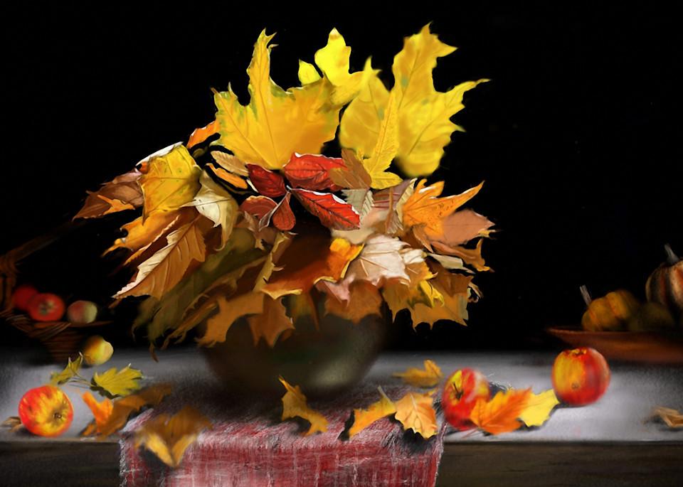 Fall Table Art   Dave Fox Studios