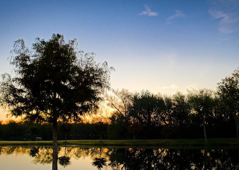 Sunrise Over Roanoke 5 Photography Art | Drone Video TX