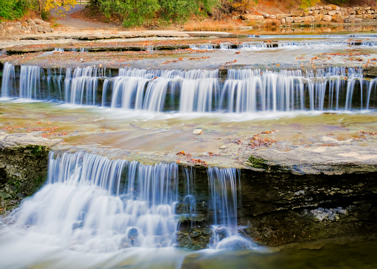 Waterfalls at Airfield Water Conservation Park - 3