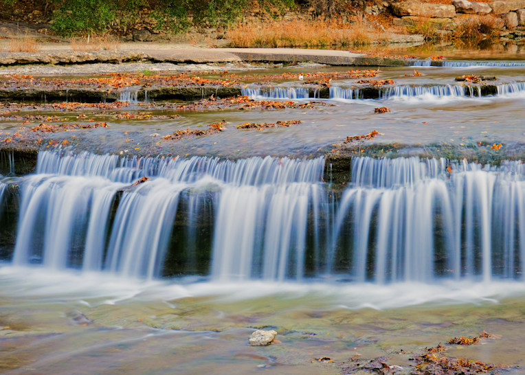 Waterfalls at Airfield Water Conservation Park - 5
