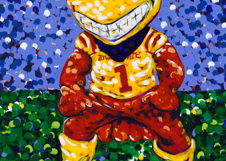 Cyclone Mascot Painting Officially Licensed by Iowa State University