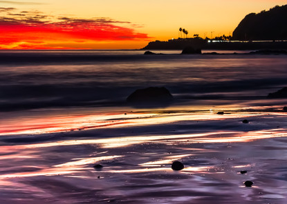 Palisades Sunset Photography Art   MJW Fine Art