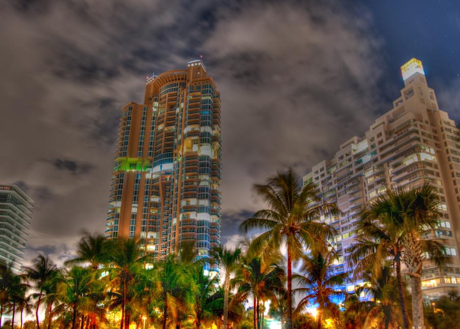 South Beach at Night III