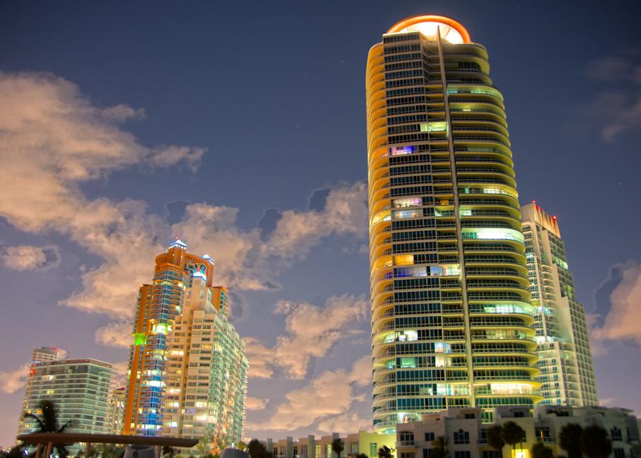 South Beach at Night II