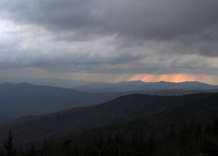 Moody Skies Over Clingmans Dome