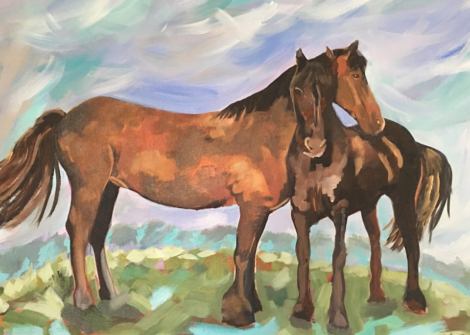 The Guardian Art | Kristin Webster Art Studio
