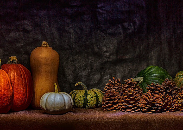 A Fine Art Photograph of Romantic Fruit for Christmas by Michael Pucciarelli