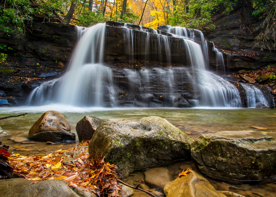 Holly River upper waterfall photography