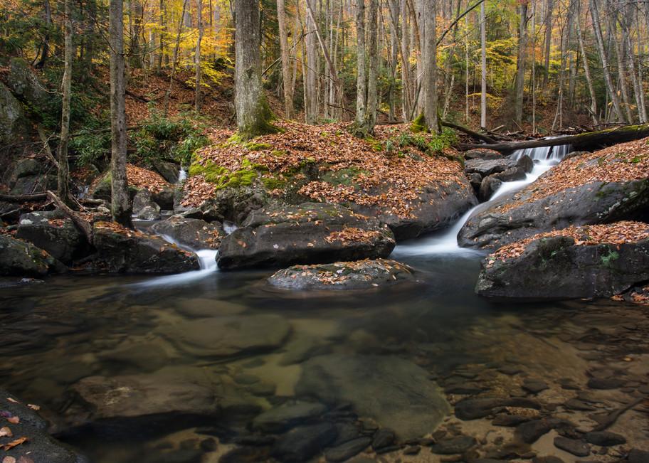 Laurel Fork pool waterfalls photography