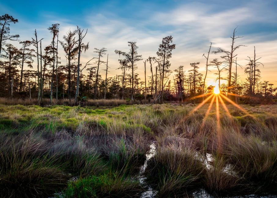 Bonnet Carre sunset photography
