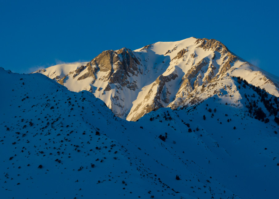 Mountain Sunrise Photography Art | Leiken Photography