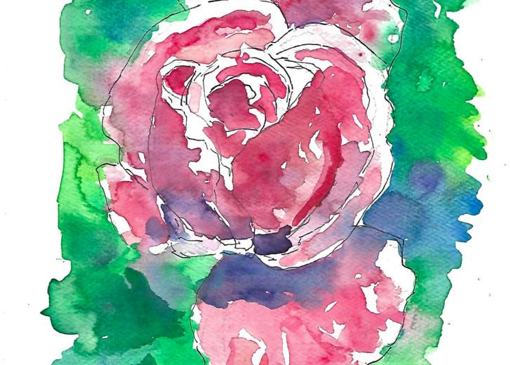 Matt Pierson Artworks | Red Flower