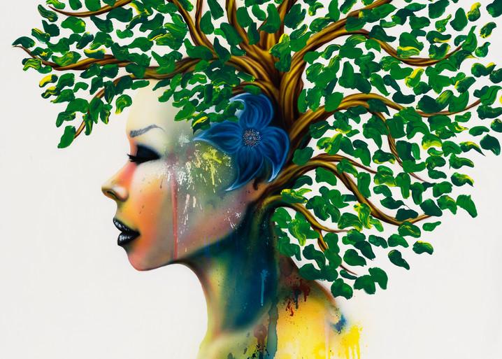Blu  Spring | Fantastic Art by Bjorn Brondsted