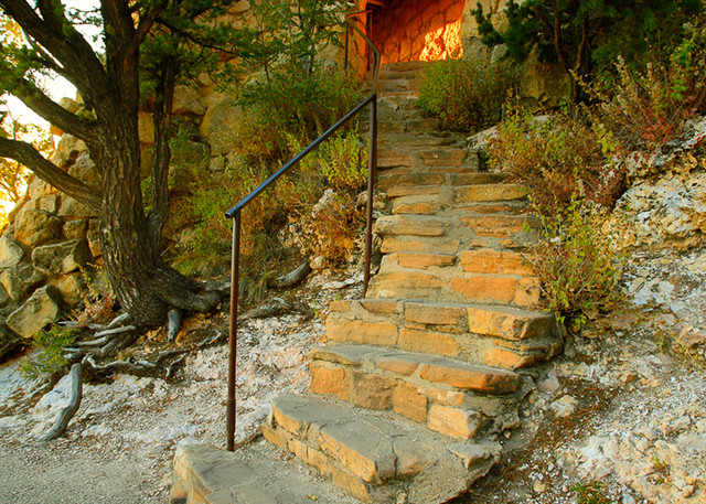 Grand Canyon - Stairway Photo Print