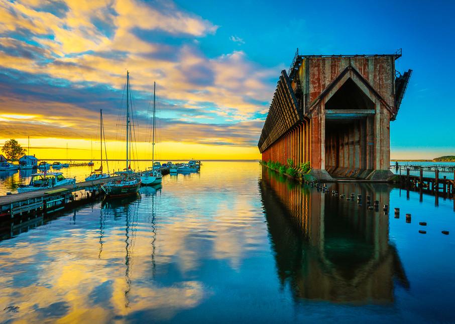 Marquette Ore Dock H Photo Print