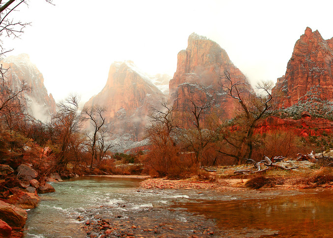 Zion - Court of the Patriarchs Photo Print