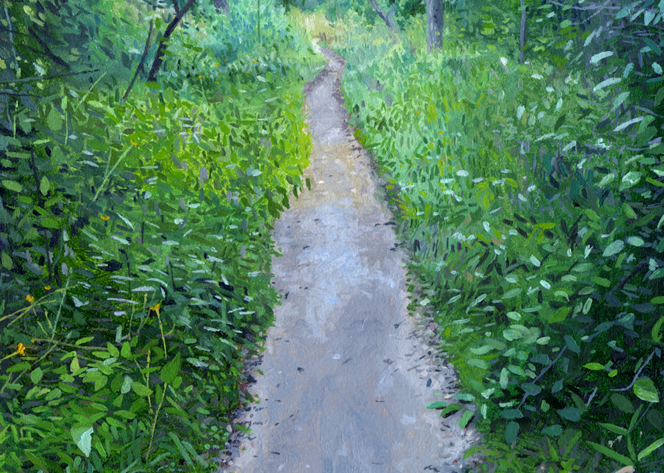 The Path, Nature Paintings, The Art of Max Voss-Nester