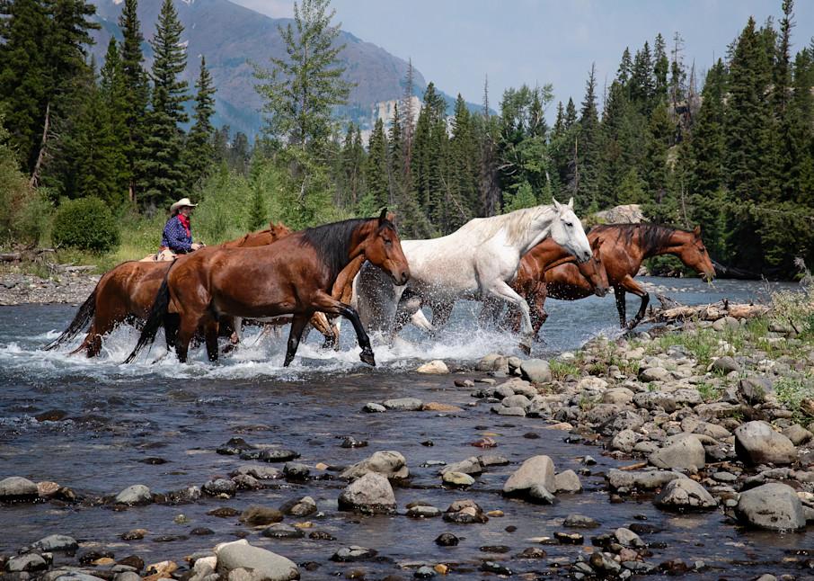Wyoming Crossing Art | Sierra Luna Photography