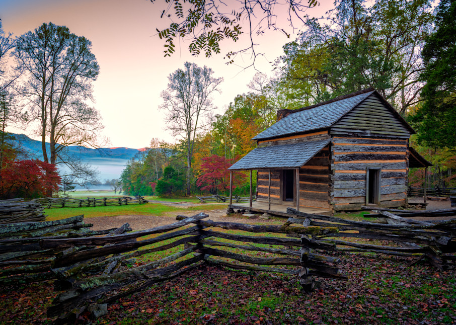 John Oliver Place in Cades Cove by Rick Berk