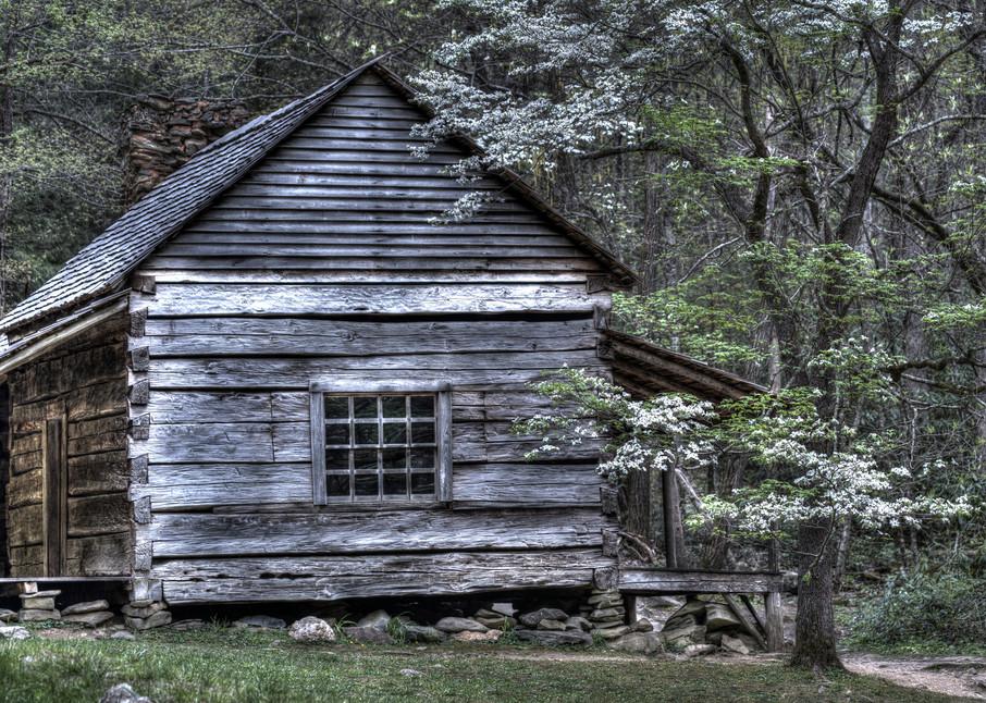 Smoky Mountains Cabin - Fine Art Photography Print