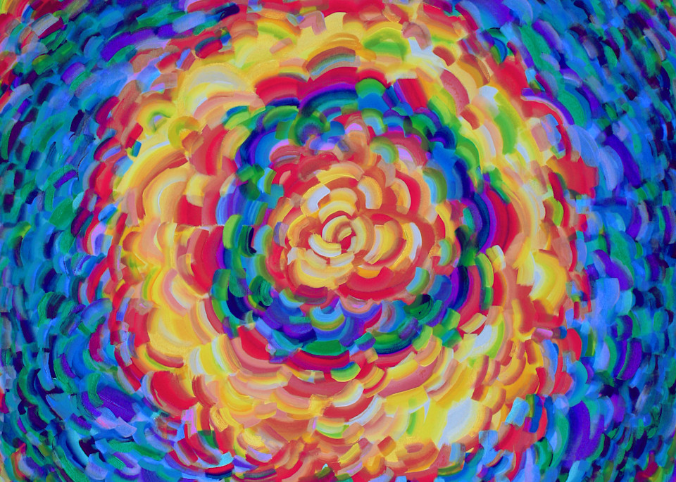 Flower Burst Print